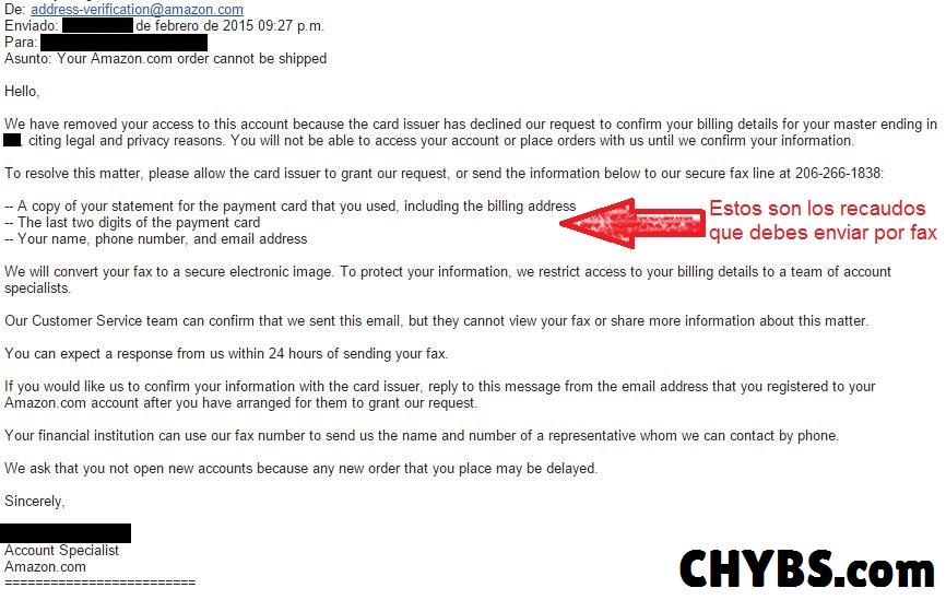 error ingreso en amazon 01 chybs.com